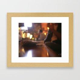 Tab Framed Art Print