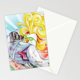 Pop Rooster Stationery Cards
