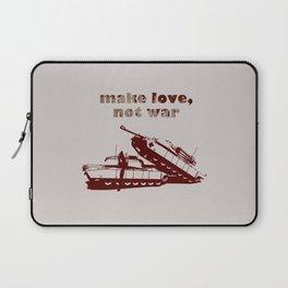 Make love, not war! Laptop Sleeve