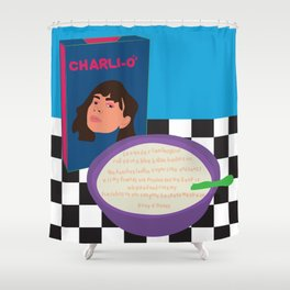 Charli XCX Shower Curtain