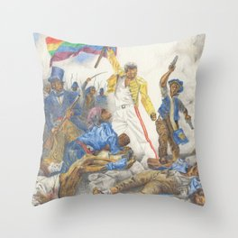 Liberty Leading the People Throw Pillow