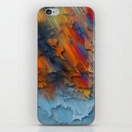 Diagonal Rainbow Redux iPhone Skin