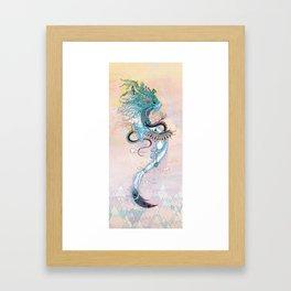 Journeying Spirit (ermine) Framed Art Print