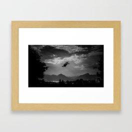 Falling Serie 2/4 Framed Art Print