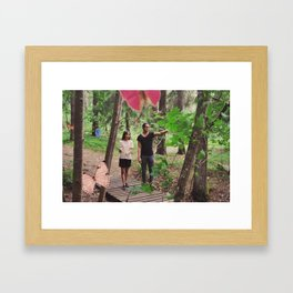 Butterfly Forest I Framed Art Print