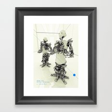 MOTHERFRAME Framed Art Print