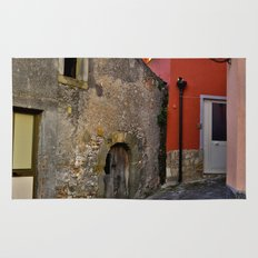Medieval village of Sicily Rug