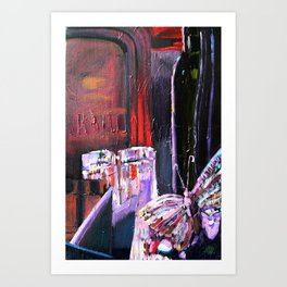 A Series of Wedding Dancer Still-Life Paintings 3. Art Print