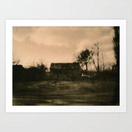 Good Road for Victor Art Print