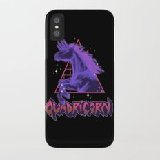 Quadricorn iPhone X Slim Case