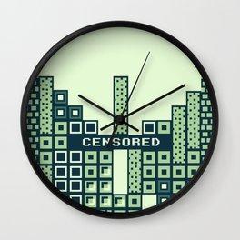 tantric tetris. Wall Clock