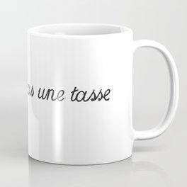 Ceci n'est pas art. Coffee Mug