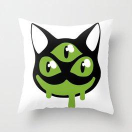 I I I Throw Pillow