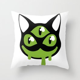 I I I Throw Pillow