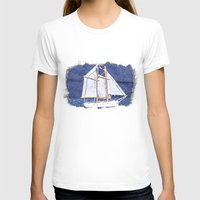 sailboat T-shirts featuring Sailboat by Michael Moriarty Photography