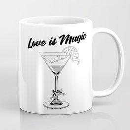 Love Is Magic Wedding Rings LGBT - COSMO GLASS Coffee Mug