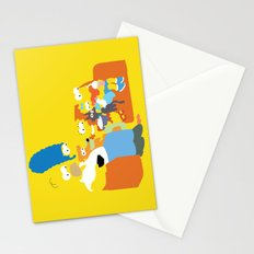 The Simpsons - Family Stationery Cards