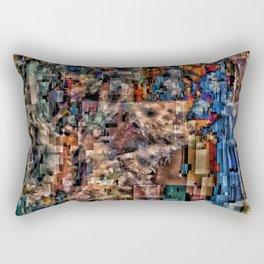 Wolf Puter Rectangular Pillow