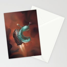 Jetpack Snail Stationery Cards