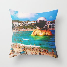 The Second Social Attempt Throw Pillow
