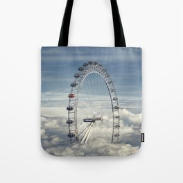 Ride Above the Clouds Tote Bag