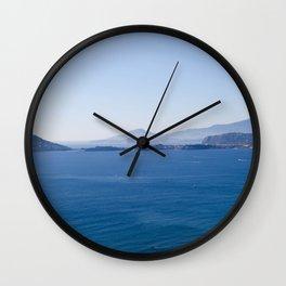 Baia Procida and Ischia, bay of Naples, Italy Wall Clock
