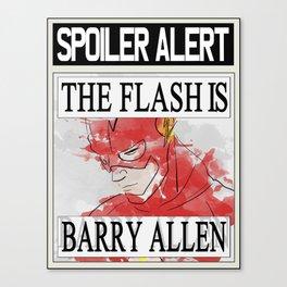 Spoiler alert! TF Canvas Print