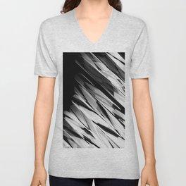 Abstract Pattern B&W1 Unisex V-Neck