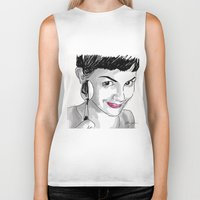 amelie Biker Tanks featuring Amelie and Spoon. by AmyLianneMuir