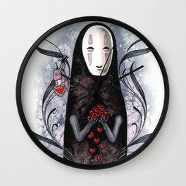 No Face Valentine Wall Clock