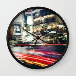 Shibuya Lights Wall Clock
