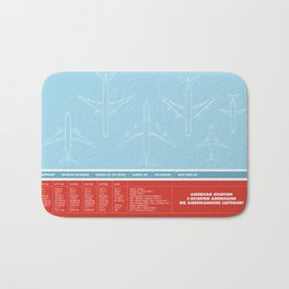 America aviation Bath Mat