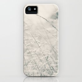 Walking Through Long Grass iPhone Case