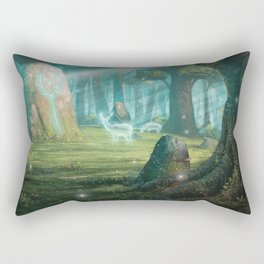 The rock of souls Rectangular Pillow