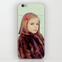 tenenbaum iPhone & iPod Skins featuring Tenenbaum by Malice of Alice