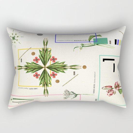 Wild Flowers_1 Rectangular Pillow
