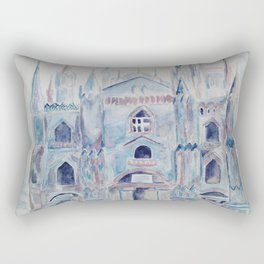 the castle in the clouds Rectangular Pillow