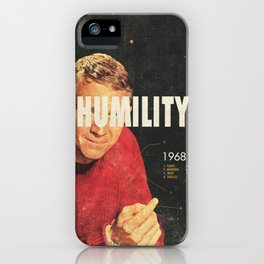 Humility 1968 iPhone Case