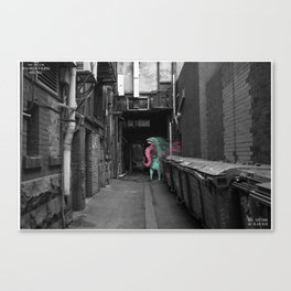 Unseen Monsters of Melbourne - Dimples McGee Canvas Print
