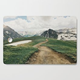 Colorado Mountain Road Cutting Board