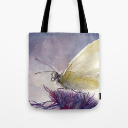 Dancing With Moonlit Wings Tote Bag