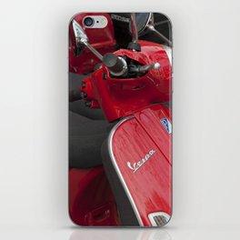Racey Red Vespa iPhone Skin