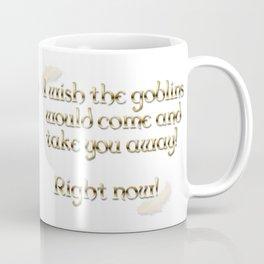 Goblins Take You Away (White) Coffee Mug