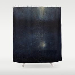 True of false moon Shower Curtain