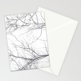 Faded Winter... Tree Branches Stationery Cards
