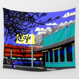 Enter Diner Wall Tapestry