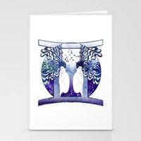 gemini Stationery Cards featuring Gemini by Stevyn Llewellyn