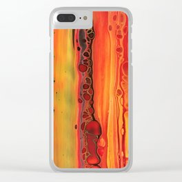 Brimstone-pt.II Clear iPhone Case