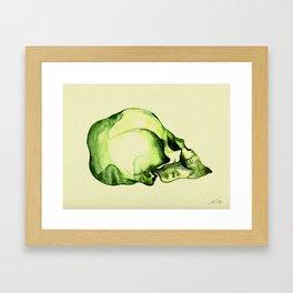 Painted Skull #2 Framed Art Print
