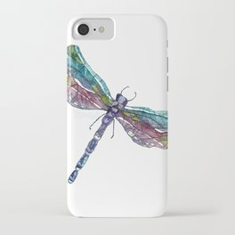 Whimsical Dragonfly iPhone Case